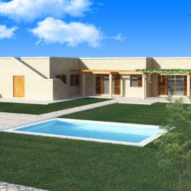 Modello paesaggistica vista 2