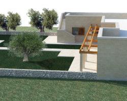 Modello paesaggistica vista 3