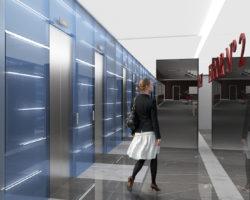 Sbarco ascensori sol B vista 1