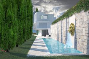 Vista 1 casa bianca