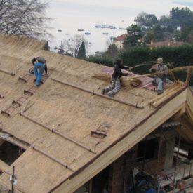 tetto di paglia